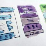 Webdesign Konzept und Struktur Erstellung Scribble